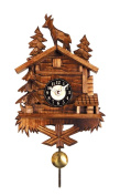 Alexander Taron 137QP Deer and Trees Quartz Wall Clock