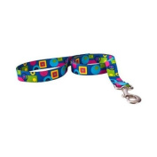 Yellow Dog Design BLG105LD 3/4 in. x 60 in. Blue Geometric Lead