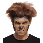Costumes For All Occasions MR178050 Wolfman Wig Dk Brown Brown