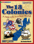 Gallopade GAL9780635075079 American Milestones The 13 Colonies