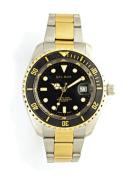 Del Mar 50117 Mens 200 Metre Sport Dive Watch Two Tone