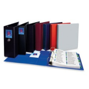 Avery Consumer Products AVE79784 3-Ring EZD Binder- 10cm . Capacity- 8-.130cm .x28cm .- Green