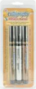 Yasutomo NSC703M Calligraphy Metallic Markers 3/Pkg