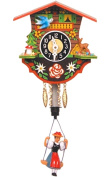 Alexander Taron 110SP Wind up Chalet Clock with Bouncing Girl Pendulum