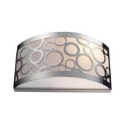 Elk Lighting 31020-2 Retrovia 2-Light Sconce In Polished Nickel