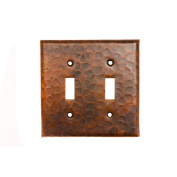 Premier Copper Products ST2 Standard Toggle Metal Wall Plate - Oil Rubbed Bronze