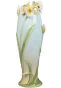 Unicorn Studios AP20042AA Tiger Lily Flower and Lady Bug Porcelain Vase