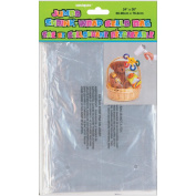 Jumbo Shrink Wrap Cellophane Bag 60cm x 80cm -Shrinks To 27cm x 17cm