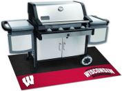 Fanmats 12134 University of Wisconsin Grill Mat