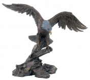 Unicorn Studios WU74848A4 Eagle Spreading Wings Sculpture