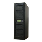 Produplicator 12DVDP20X320G 12 Target CD DVD Duplicator - Stand Alone Disc Duplication Copier - Multiple Burner Copy Tower