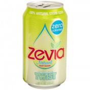 Zevia 35589 4 x 6/350ml Natural Twist Diet Soda
