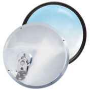 RoadPro RP-19SOS 8.5 Stainless Steel Adjustable Convex Mirrors - Offset Stud