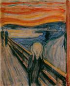Hot Stuff Enterprise 3737-12x18-GC The Scream Edvard Munch Poster