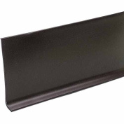 M-d Products 10.2cm . X 60 Brown Vinyl Dryback Wall Base 73900