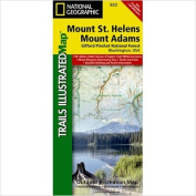National Geographic Maps TI00000822 Mount St. Helens - Mount Adams - Gifford-Pinchot National Forest Map