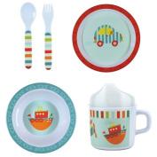 Toot Toot Melamine Dinnerware Set