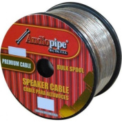 Audiopipe CABLE181000 Speaker Wire 18 Ga 300m Clear