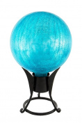 Achla G10-T-C 10 in. Gazing Globe Teal Crackle