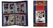 C & I Collectables 2010COYOTESTS NHL Phoenix Coyotes Licenced 2010 Score Team Set and Storage Album