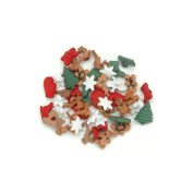 Dress It Up Holiday Embellishments-Christmas Miniatures