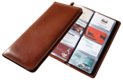 Raika SF 126 TAN Desk Card Holder - Tan