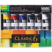 Liquitex Heavy Body Acrylic Paint 60ml/Tube, Classic 6, 6/pkg