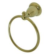 Kingston Brass BA7974PB Kingston Brass BA7974PB English Vintage Towel Ring Polished Brass