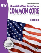 Swyk on the Common Core Reading Gr 8, Parent/Teacher Edition