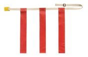 Olympia Sports FB635P Triple Threat Flag Football Belt - X-Large - Red