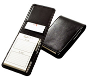 Raika SF 125 BLK Note Taker Case with Pen - Black