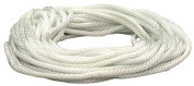 Lehigh Group .48.3cm . X 15.24m White Nylon Solid Braid Rope N650W