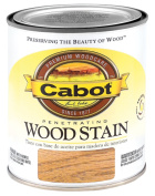 Valspar Brand .50 Pint Natural Interior Oil Wood Stain 144-8120 HP
