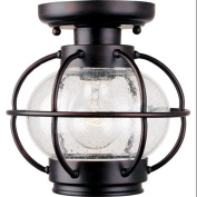 Maxim Lighting 30508CDOI Portsmouth 1-Light Outdoor Ceiling Mount - Oil Rubbed Bronze