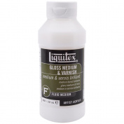 Reeves 73104 Liquitex Gloss Fluid Acrylic Medium& Varnish-8 Ounces