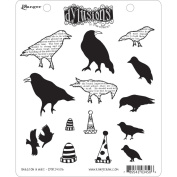 Ranger DYR-34506 Dyan Reaveleys Dylusions Cling Stamp Collection-Birds On A Wire