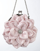 Lillian Rose P408 PI Flower Purse - Pink