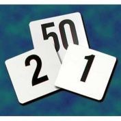 Update International PTN4-1-100 4 in. x 4 in. Plastic Table Number 1-100