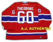 AJ Sports World THEJ105000 JOSE THEODORE Montreal Canadiens SIGNED Hockey JERSEY