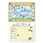 Beistle 58258 B Is For Baby Invitations