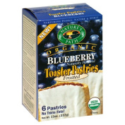 Natures Path 32283 Frosted Blueberry Toaster Pastry