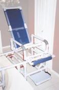 MJM International D118-5-TIS-SLIDE Sliding- Transfer Chair