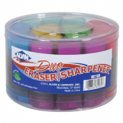 Alvin NE18D Twin Eraser-Sharpener Display Assortment