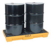 Eagle Mfg 258-1632 2 Drum Spill Containmentpallet