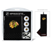 Team Golf 13520 Chicago Blackhawks Embroidered Towel Gift Set