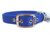 Hamilton Pet Company - Double Thick Nylon Dog Collar- Blue 1 X 20 - DD 20BL