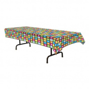 Beistle 57923 Disco Tablecover - Pack of 12