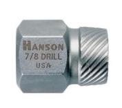 Hanson HAN52201 .33cm . Hex Head Multi Spline Screw Extractor