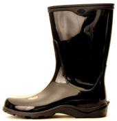 Sloggers Size 10 Black Womens Sloggers Waterproof Rain Boots 5000BK10