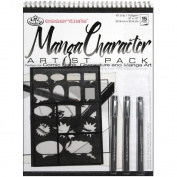 Royal Brush 422606 Essentials Artist Pack-Manga Character